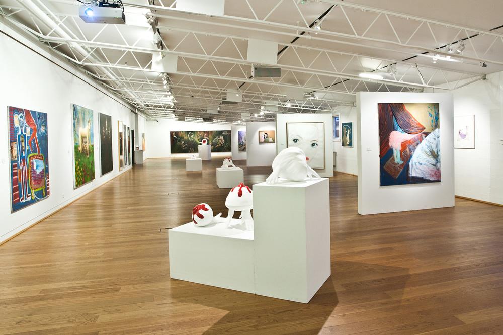 Exhibition Hall D Model : Exhibition halls söfn reykjanesbæjar